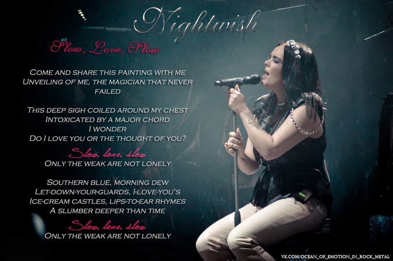 Slow, Love, Slow Nightwish