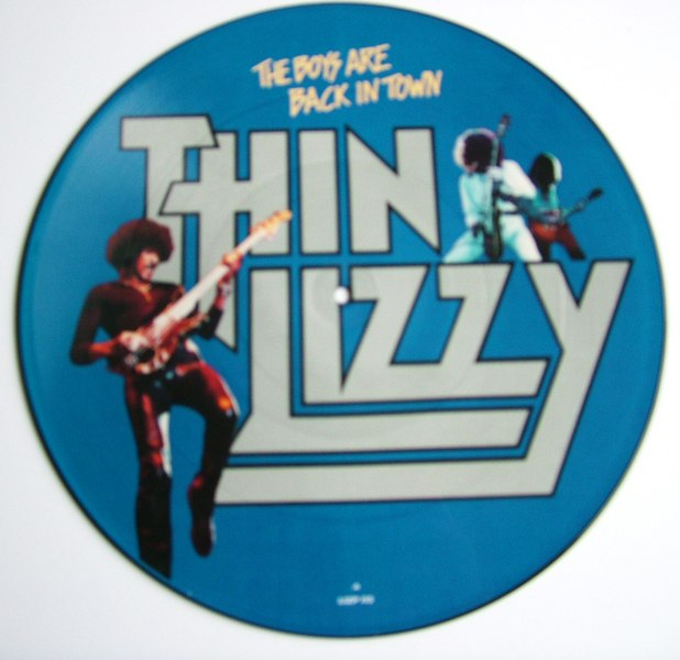 The Boys Are Back In Town Thin Lizzy