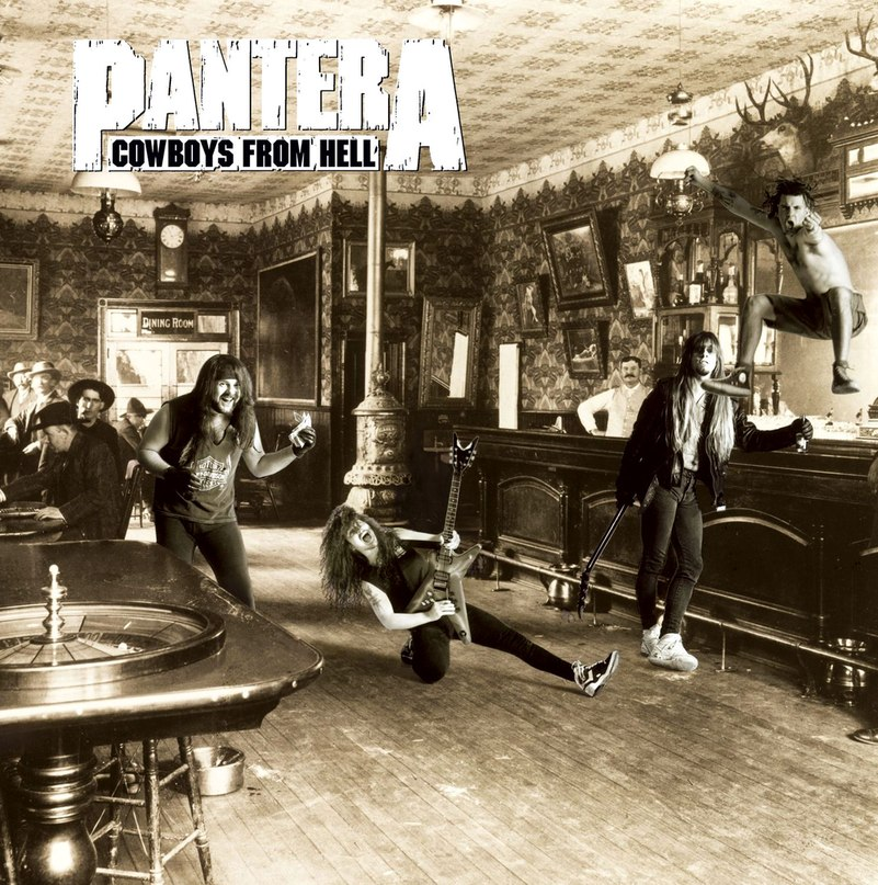 Cowboys From Hell Pantera