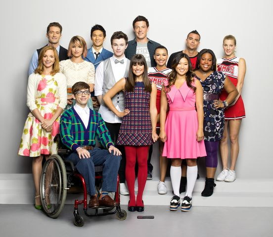 You Are Woman, I Am Man Glee Cast