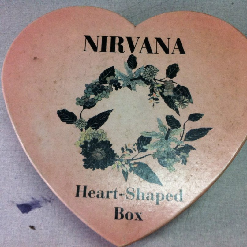 Heart-Shaped Box Нирвана Курт Кобейн