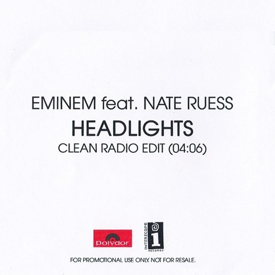 Headlights (ft. Nate Ruess) Eminem