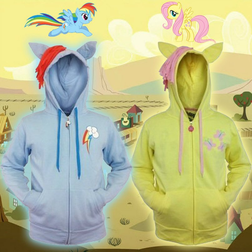 Fluttershy and Rainbow Dash My Little Pony -