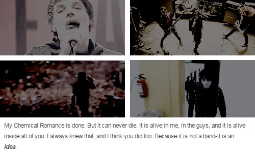 Every Snowflake is Different / Все снежинки разные My Chemical Romance